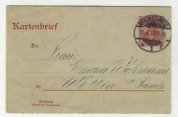 Deutsches Reich Ganzsache K 14