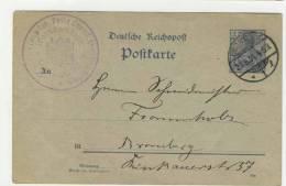 Deutsches Reich Ganzsache P 44 II