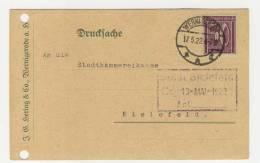 Deutsches Reich Michel No. 164 gestempelt used auf Karte