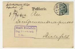Deutsches Reich Michel No. 85 I gestempelt used auf Karte