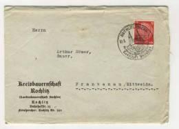 Deutsches Reich Michel No. 519 gestempelt used auf Brief mit Inhalt