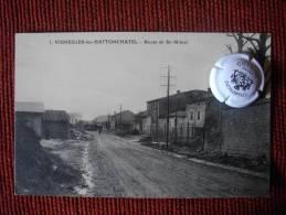 VIGNEULLES LES HATTONCHATEL MEUSE ROUTE DE ST MIHIEL - Vigneulles Les Hattonchatel