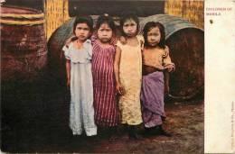 : Réf : L-12-2065  :   Philippines Children Of Manila - Philippines