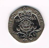 GREAT BRITAIN  20 PENCE   1995 - 20 Pence