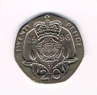GREAT BRITAIN  20 PENCE   1996 - 20 Pence