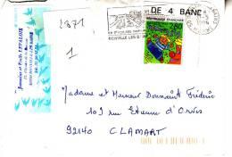 LSI 2871 Flamme De Donville Clamart Barres De Tri - 1961-....