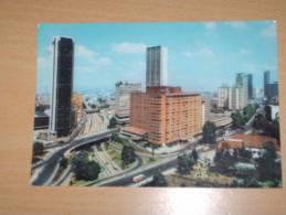 CPSM Cpa Postcard V1975 COLOMBIE Colombia BOGOTA Puentes Sobre La Avenida 26 En El Sector Internacional - Colombie