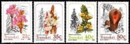 Transkei - 1991 Parasitic Plants Set (**) # SG 261-264 , Mi 263-266 - Transkei