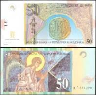 Macedonia #new 50-2007, 50 Denari, 2007, UNC - Mazedonien