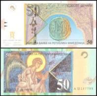 Macedonia #15a-1996, 50 Denari, 1996, UNC - Mazedonien