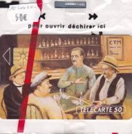 TELECARTE NSB  Une Partie De Cartes CTM @ Au Bar - France