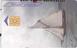 TELECARTE NSB 50 U CEF 38 - Eric TABARLY @ Voilier - France