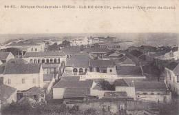 Senegal Ile De Goree Pres Dakar Vue Prise Du Castel - Senegal
