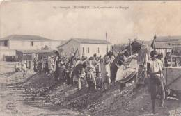 Senegal Rufisque Le Comblement Du Marigot - Senegal