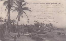 Senegal Saint-Louis Bords Du Fleuve A Guet N'Dar 1906 - Senegal