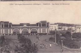 Senegal Dakar La Gare Et L'Arsenal Railroad Station - Senegal