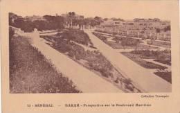 Senegal Dakar Perspective sur le Boulevard Maritime