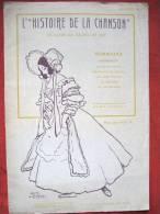 Partition L'histoire De La Chanson Illustrateur Gus Bofa Recueil N°6 - Old Paper