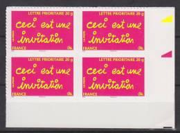 """=Timbre De Message """"Ceci Est Une Invitation"""" TVP -20g Autocollant  YT N° 204 Autoadhésif - KlebeBriefmarken"""