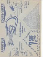 Enveloppe Ompex Kehl Allemagne, Coupe Verre, Affuteur.