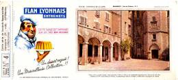 ✸ BUVARD FLAN LYONNAIS—Série B Chateaux De La Loire—N° 4—Années 1950 ✸ - Süssigkeiten & Kuchen