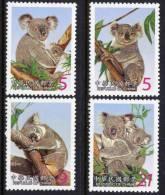TAIWAN 2002 - Faune, Koalas - 4 Val Neuf // Mnh - 1945-... République De Chine