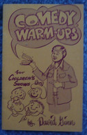 Comedy Warm-ups For Children's Shows - Enfants