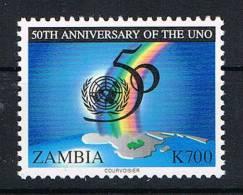 Zambia 1995 50 Jahre UNO Mi.Nr. 651 ** - Zambia (1965-...)