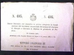 VENETO -PADOVA -CARRARA SAN GIORGIO -F.G. - Padova (Padua)
