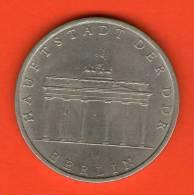 **  5 Mark 1971  **   KM29 - (  Berlin - Brandenburg Gate )  - RDA GDR DDR - Alemania Deutschland Germany Allemagne - [ 6] 1949-1990 : RDA - Rep. Dem. Alemana