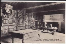 DORDOGNE - Environs De Sarlat - La Grande Salle De Billard Du Château De PUYMARTIN - Châteaux