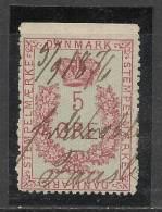 Denmark 1876 5 Ore Postage Due - Port Dû (Taxe)