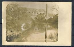 Alte Original-FotoAK 1918: Partie In Bazancourt 12.4.18  -Feldpost- - Bazancourt