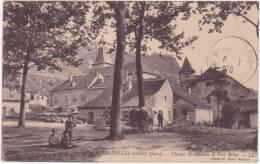 Salins Les Bains (Jura) Clocher Saint Maurice Et Fort Belin - Non Classés