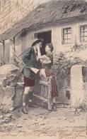 Man & Woman In Love, Wien (Vienna), Austria, PU-1907 - Wien