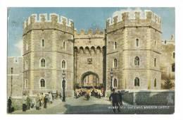 Cp, Angleterre, Windsor Castle, Henri VIII Gateway, Voyagée 1963