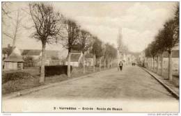 77-VARREDDES-Entrée- Route De Meaux- - Andere Gemeenten