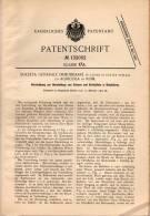 Original Patentschrift -  Societa Immobiliare Ed Agricola In Rom , 1900 , Apparat Für Eis Und Schnee !!! - Macchine