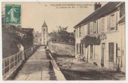 VILLIERS SUR MORIN : LA CHAUSSEE DU RU - EDITION ND Phot. -  ECRITE  190? - 2 SCANS - - Frankreich