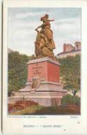 DEP 90 BELFORT BELLE CARTE DU MONUMENT QUAND MEME - Belfort - Ville