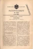 Original Patentschrift - H. Harms In Eystrup B. Hoya U. Nienburg , 1900 , Gewindeschneidkluppe , Gewindeschneider !!! - Werkzeuge