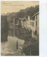 LU  LUXEMBOURG / L'Alzette Et Rue Des Tanneurs /TOP CARTE Format 16,8*12,1 Cm C. Bernhoeft Carte Réforme  N° 21 - Luxembourg - Ville