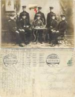 Fotokarte Stettin 1910, Soldaten, Regiment 2, Stettin, Mit Feldpost Nach Dessau In Anhalt Gelaufen - War, Military