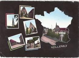 SARTHE 72.MELLERAY MULTIVUES CPM - Autres Communes