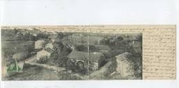 88 LA CHAPELLE AUX BOIS   / Vue Générale  /  TOP CARTE RARE Carte Panoramique  28,1 Cm * 9 Cm - France