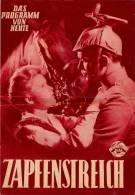 DPVH 112 Zapfenstreich 1952 Militär 1914 Beyerlein Hannerl Matz Jan Hendriks PVH Filmprogramm Programm Movie - Zeitschriften