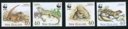 1991  Tustara Endengered Specie WWF  Complete Set MNH ** - Unused Stamps