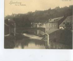 LU  LUXEMBOURG / Pont Du Pfaffenthal  / TOP CARTE RARE  Format 16,8*12,1 Cm Edit C. Bernhoeft Carte Réforme N° 39 - Luxembourg - Ville