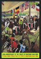 1990  Treaty Of Waitangi  Souvenir Sheet  MNH ** - New Zealand