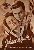DPVH 287 Johannisfeuer 1954 Karlheinz Böhm Hermann Sudermann Liebeneiner Dahlke Filmprogramm Programm Movie - Zeitschriften